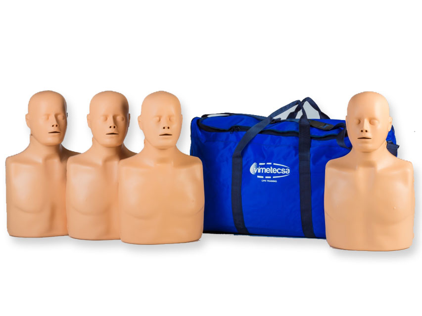 4-MAN ADVANCE practicienilor CPR manikins