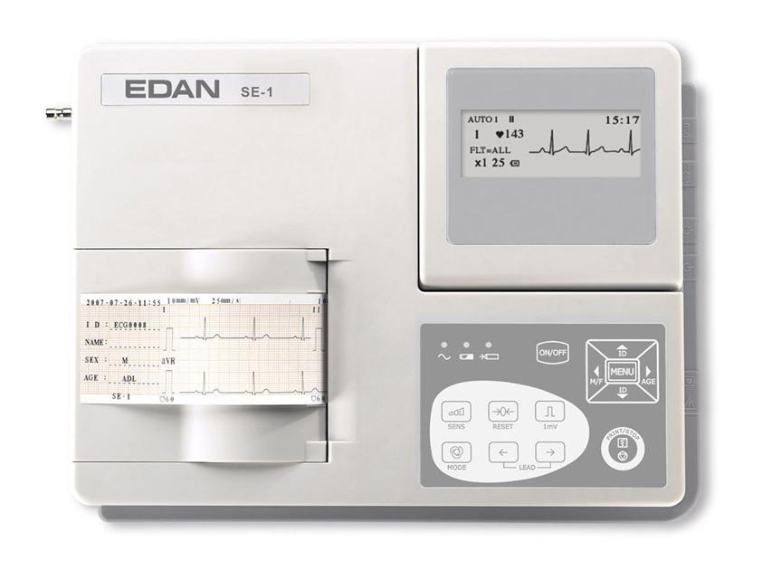 Edan SE-1 ECG - 1 canal cu monitor