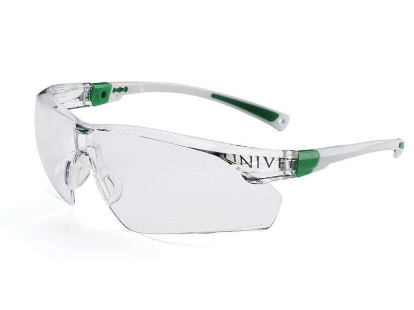 Ochelari protectie - verde - ceață rezistent, anti-zgarieturi Plus