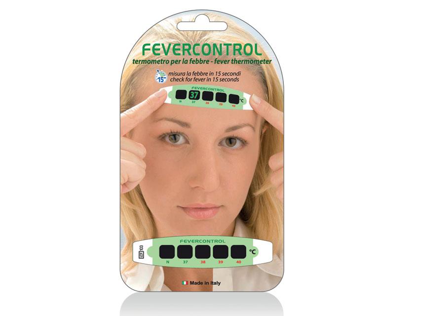 TEST FEBRA DE CONTROL Frunte TERMOMETRU - blister