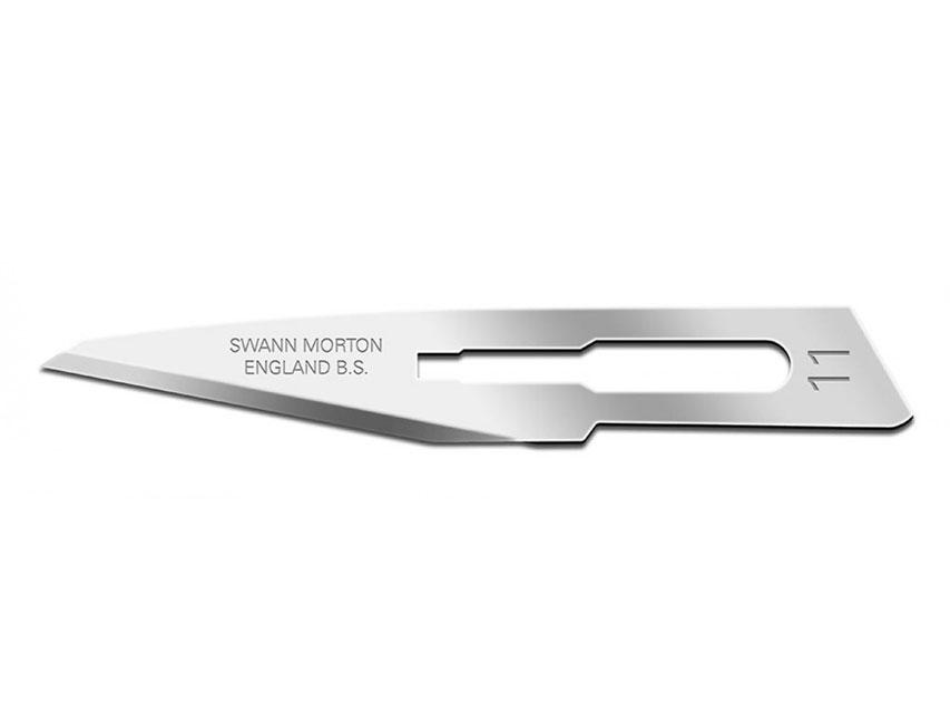 SWANN-MORTON Lama de bisturiu  N. 11 - sterile