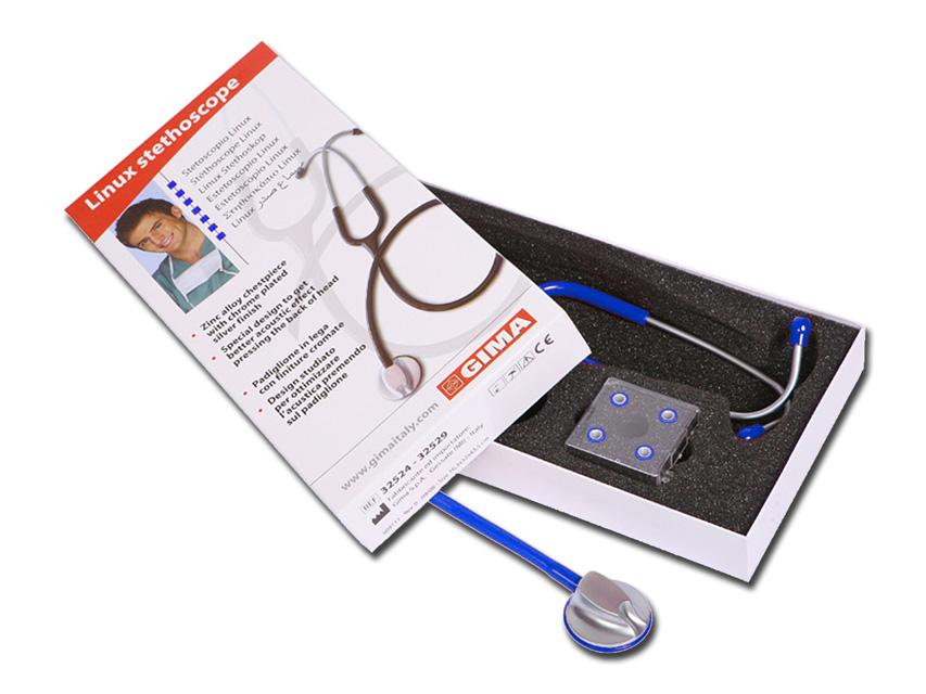 LINUX stetoscop - albastru Y