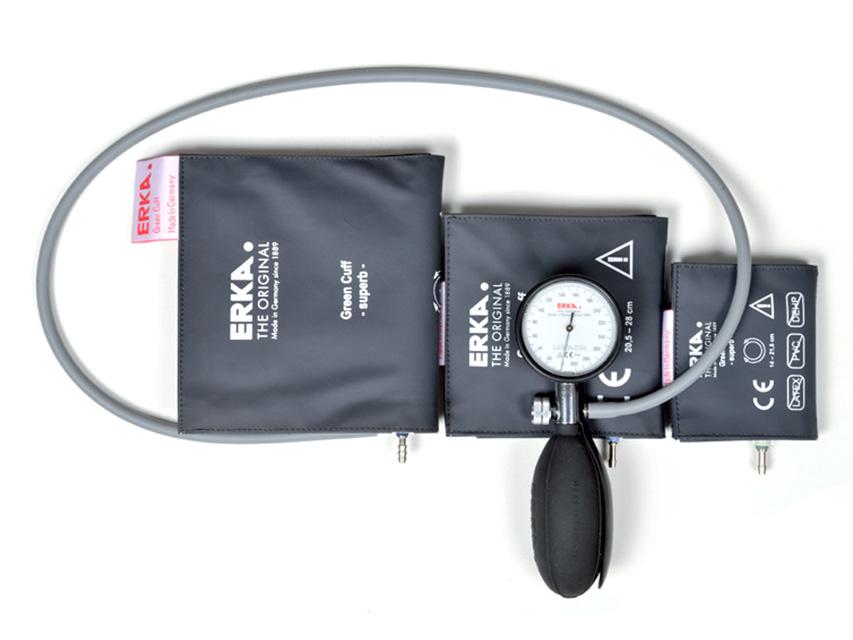 KOBOLD Tensiometru mecanic aneroid cu 3 manșete pediatrice - gri