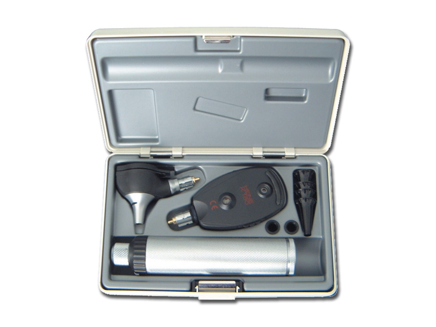 HEINE K 180 F.O. SET Otoscop + oftalmoscop
