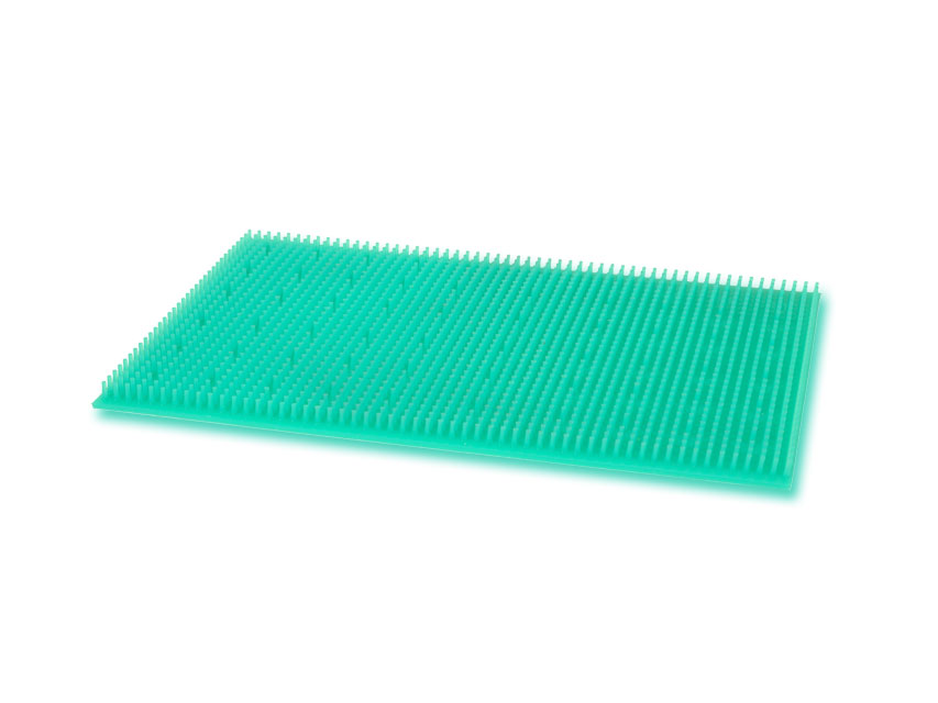 SILICON MAT 380x230 mm - perforate