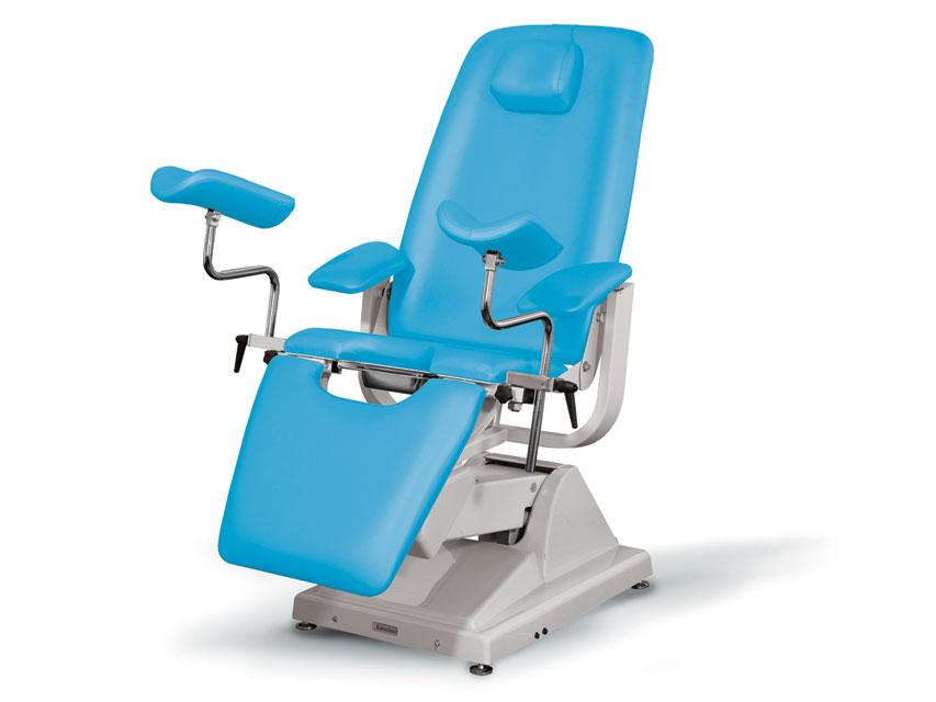 Gynex SCAUN ginecologic PROFESSIONAL - albastru deschis