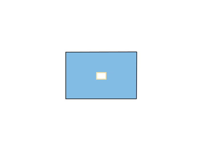 Cearșaf chirurgical impermeabil  75x90 cm cu gaura 6x9 cm