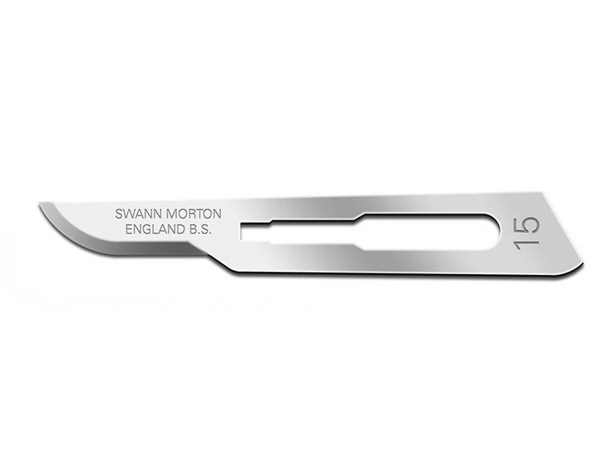 SWANN-MORTON Lama de bisturiu  N. 15 - sterile