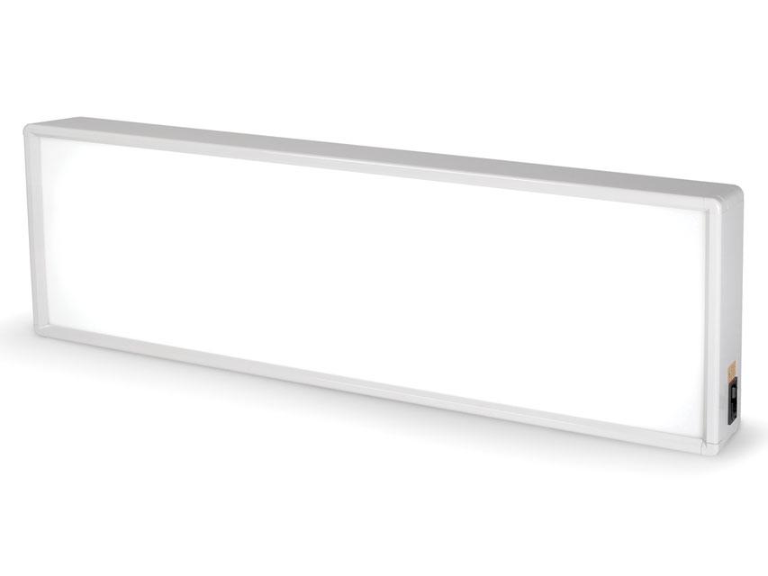 Negatoscop 38X122 cm - triplu