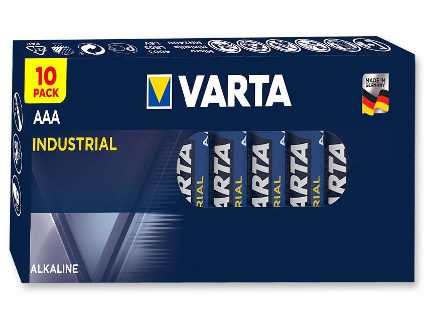 VARTA INDUSTRIAL alkaline - ministilo AAA - 20 cutie de 10