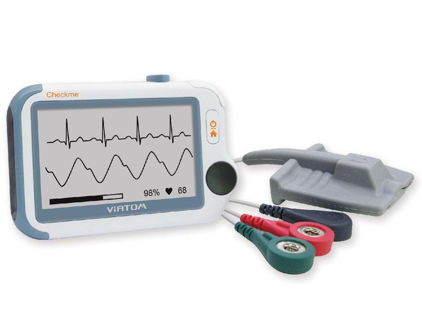 CHECKME PRO MONITOR CU SEMNE VITALE Holter ECG cu Bluetooth