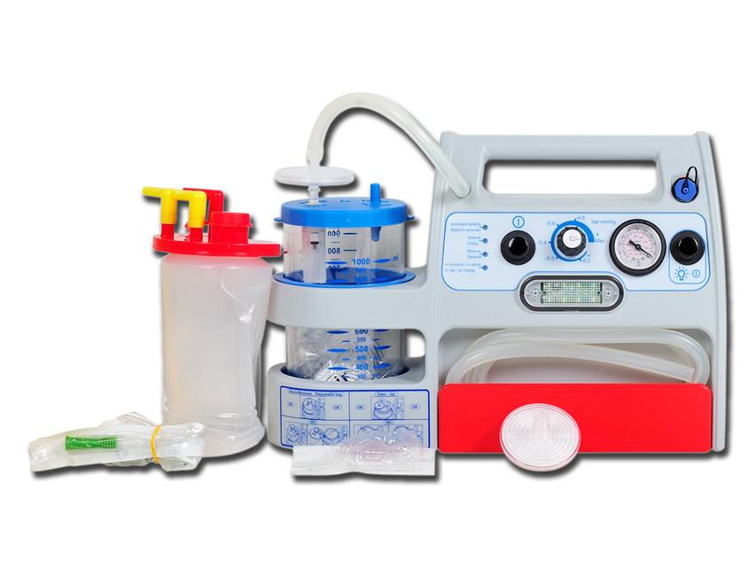 MINI ASPEED EVO BATTERY ASPIRAȚIE 1 l cu suport de ambulanță